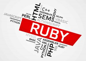 Ruby Word Cloud, Tag Cloud, Vector Graphics
