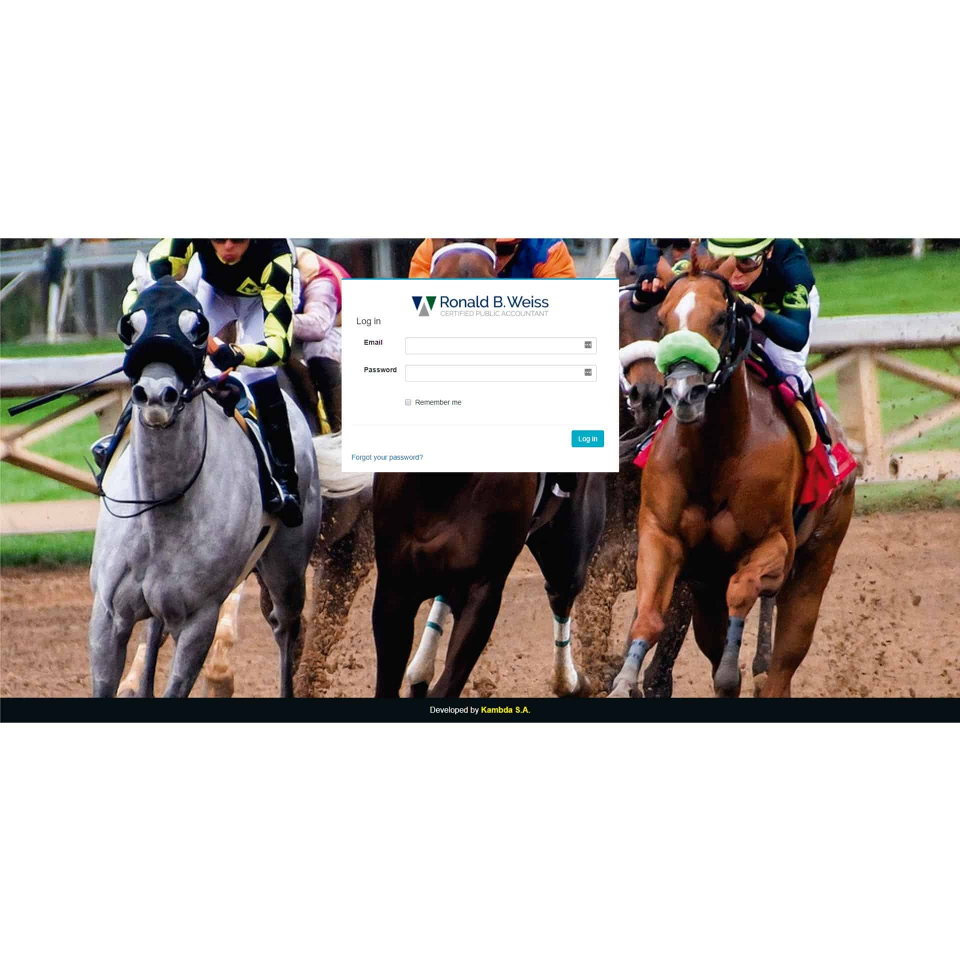 Horse Races Accounting